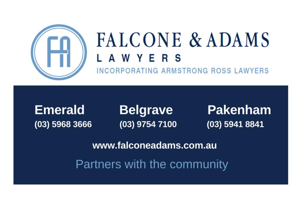 Falcone & Adams Lawyers — Emerald, Belgrave, Pakenham