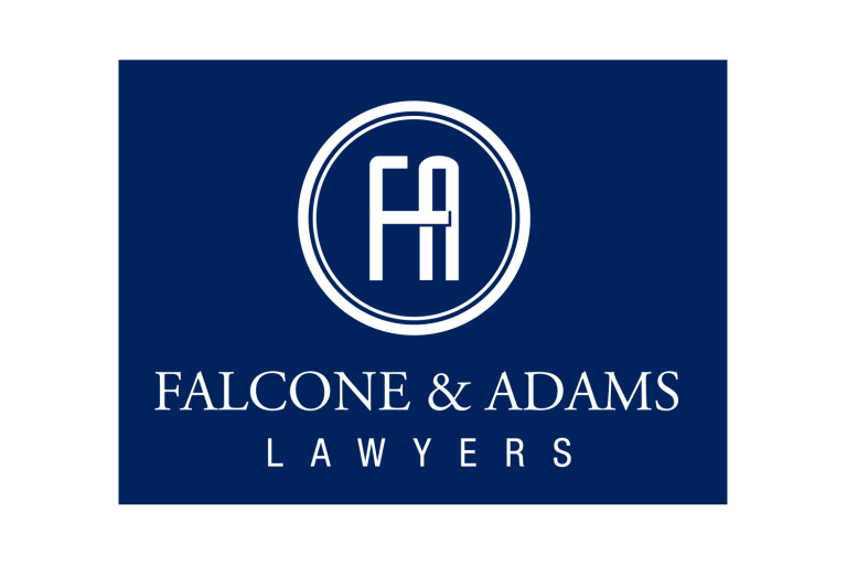 Sponsor Logo - Falcone & Adams Lawyers