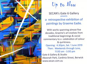 Up To Now - Graham Eadie Art Exhibition